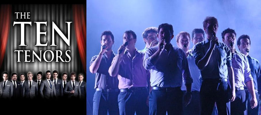 The Ten Tenors at Hayes Hall