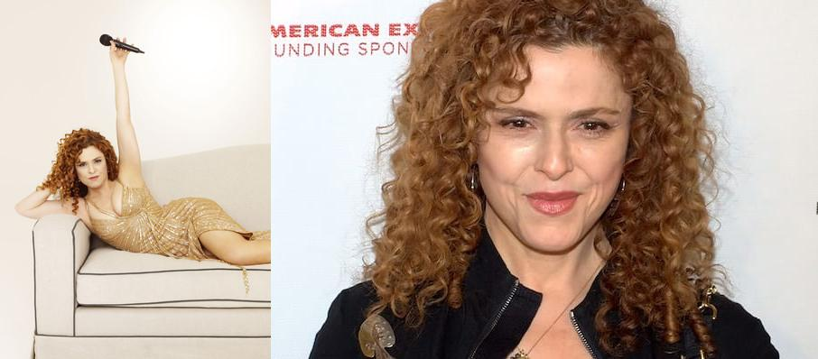 Bernadette Peters at Hayes Hall