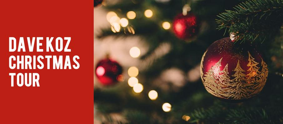 Dave Koz Christmas Tour at Hayes Hall