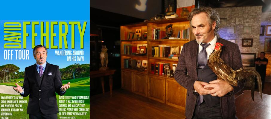 David Feherty at Hayes Hall