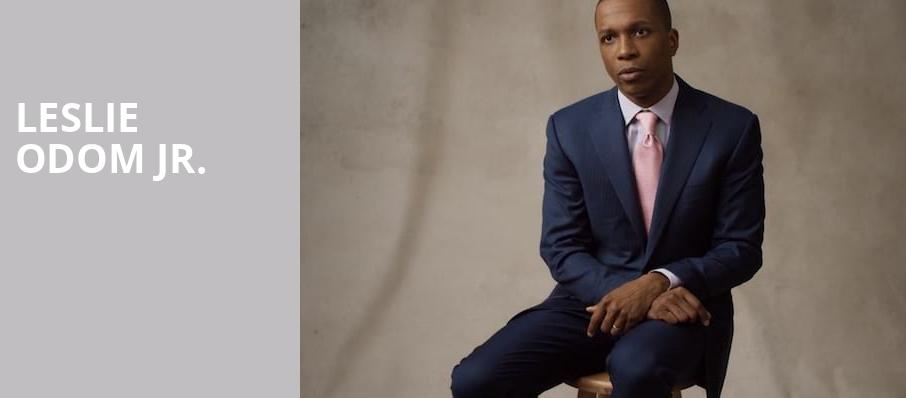 Leslie Odom Jr, Hayes Hall, Naples