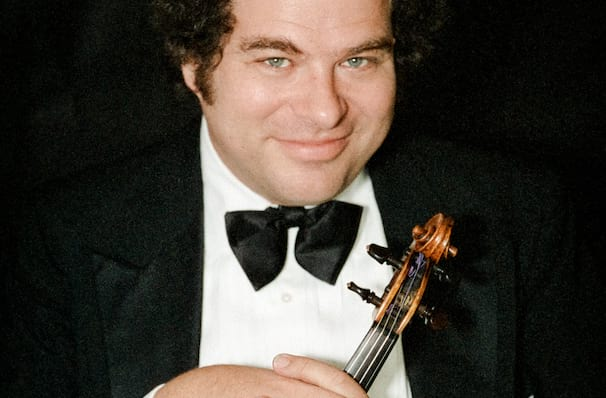 Itzhak Perlman dates for your diary